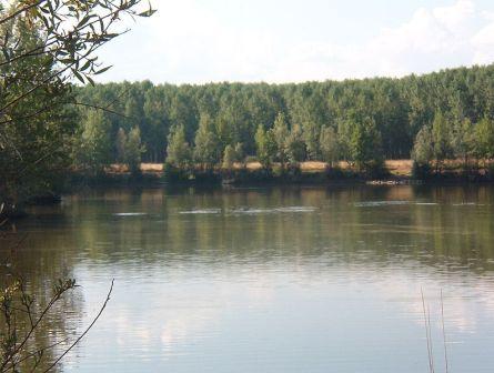 El Esla, el rio de  la villa del bordado